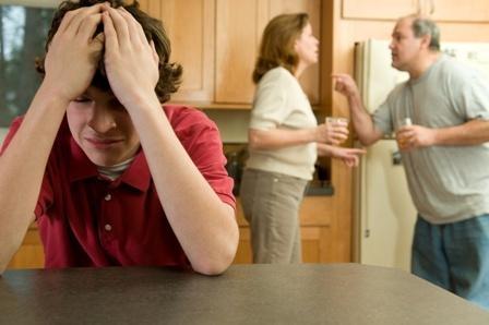 Алкоголизм в семье