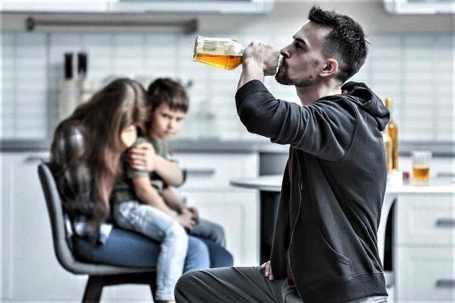 Алкоголизм семья и дети